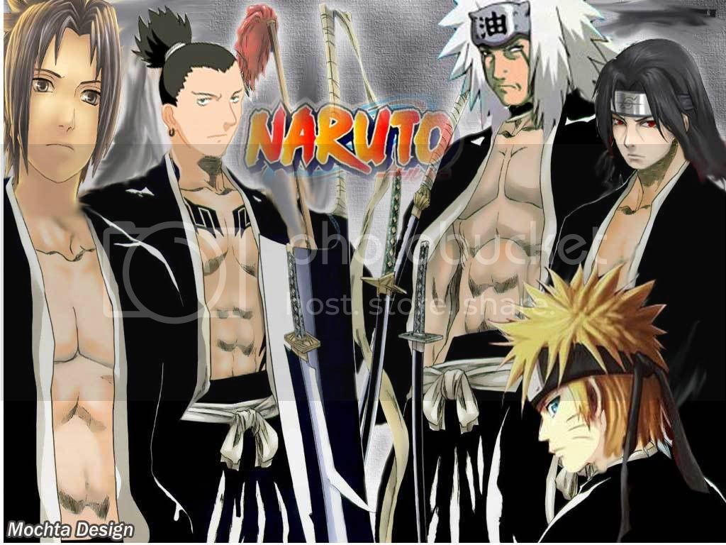 bleach,wallpaper,naruto